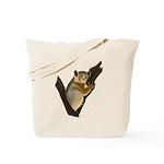 Weasel Sportive Lemur Tote Bag