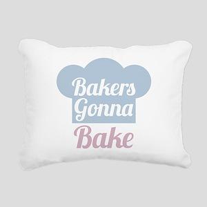 Bakers Gonna Bake Rectangular Canvas Pillow