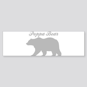 Poppa Bear Bumper Sticker