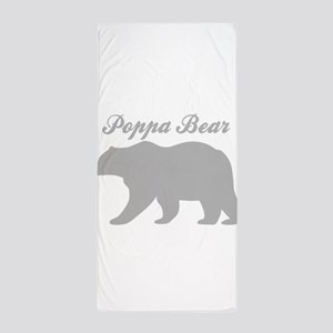 Poppa Bear Beach Towel