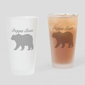 Poppa Bear Drinking Glass