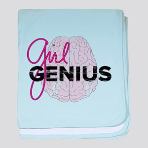 Girl Genius baby blanket