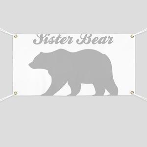 Sister Bear Banner