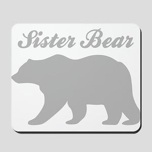 Sister Bear Mousepad
