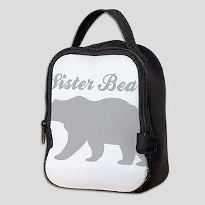 Sister Bear Neoprene Lunch Bag