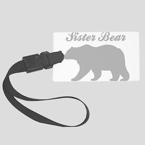 Sister Bear Luggage Tag