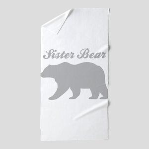 Sister Bear Beach Towel
