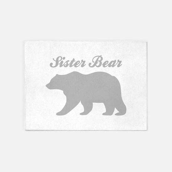 Sister Bear 5'x7'Area Rug