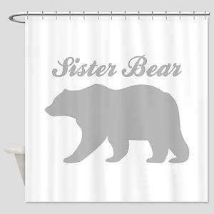 Sister Bear Shower Curtain