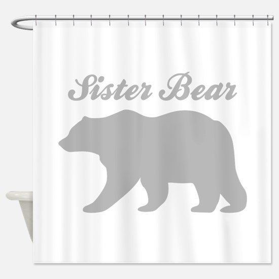Sister Bear Shower Curtain
