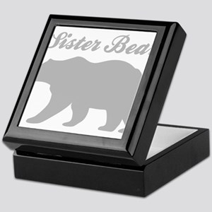 Sister Bear Keepsake Box
