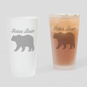 Sister Bear Drinking Glass