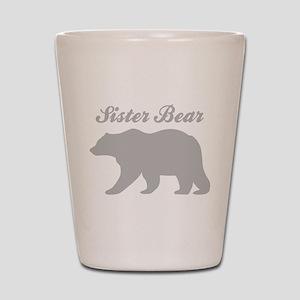 Sister Bear Shot Glass