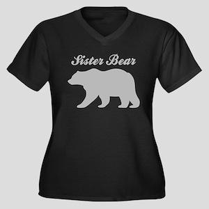 Sister Bear Plus Size T-Shirt
