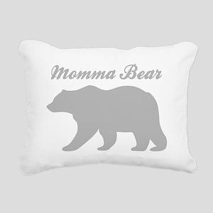 Momma Bear Rectangular Canvas Pillow