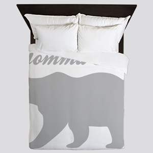 Momma Bear Queen Duvet