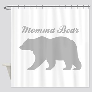 Momma Bear Shower Curtain