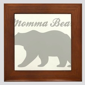 Momma Bear Framed Tile