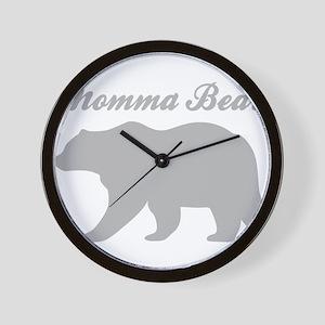 Momma Bear Wall Clock