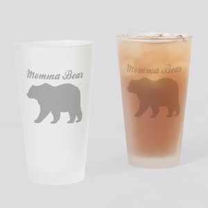 Momma Bear Drinking Glass