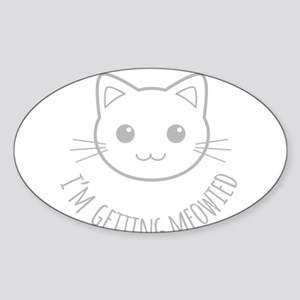 Im Getting Meowied Sticker