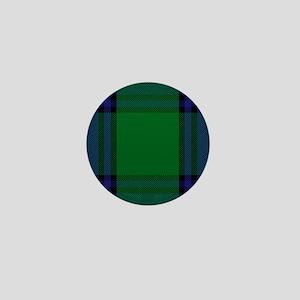 Shaw Scottish Tartan Mini Button