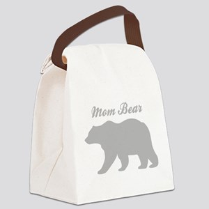 Mom Bear Canvas Lunch Bag
