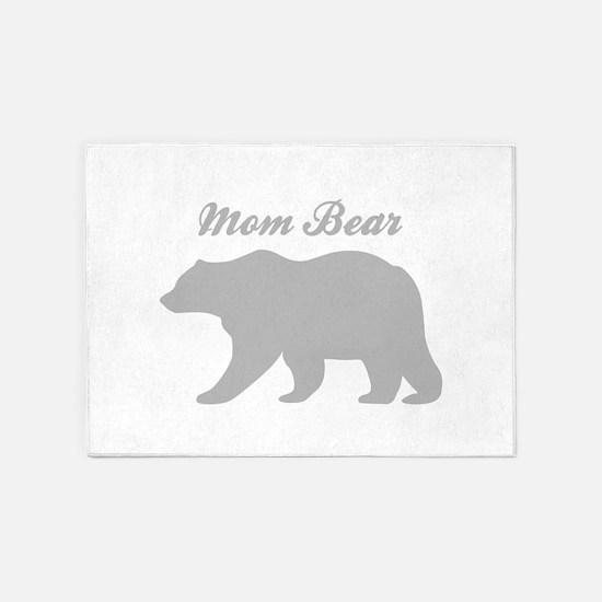 Mom Bear 5'x7'Area Rug