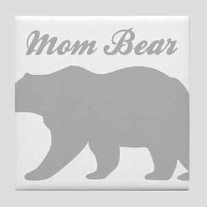 Mom Bear Tile Coaster