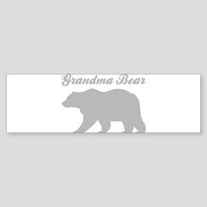 Grandma Bear Bumper Sticker