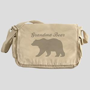 Grandma Bear Messenger Bag