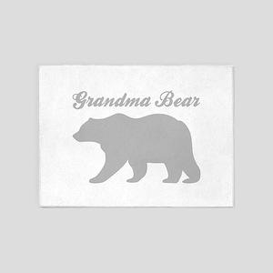 Grandma Bear 5'x7'Area Rug
