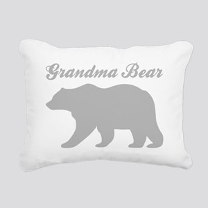 Grandma Bear Rectangular Canvas Pillow