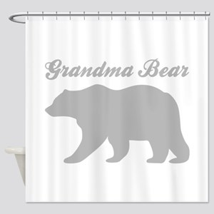 Grandma Bear Shower Curtain
