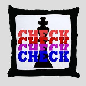 Chess Check Throw Pillow