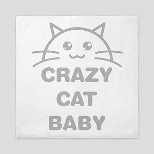 Crazy Cat Baby Queen Duvet