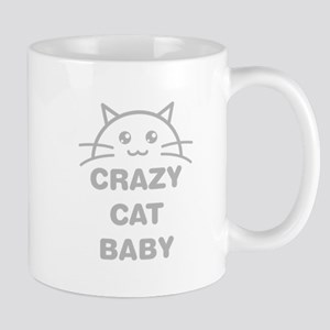 Crazy Cat Baby Mugs
