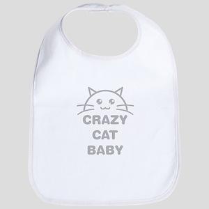Crazy Cat Baby Bib