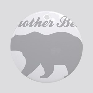 Brother Bear Round Ornament