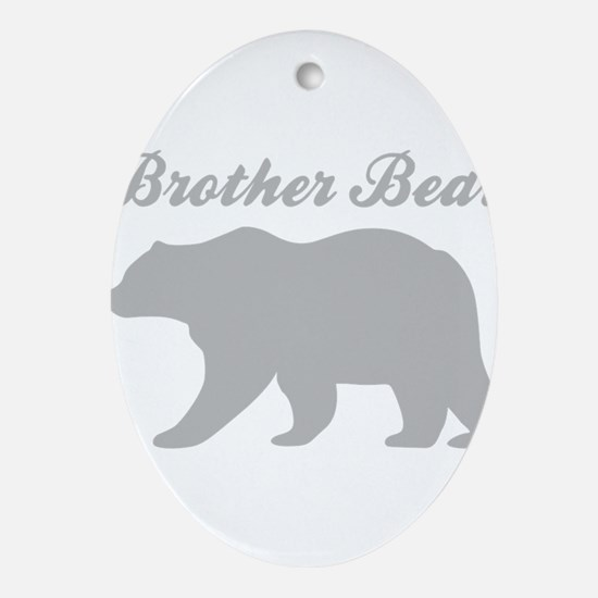 Brother Bear Oval Ornament