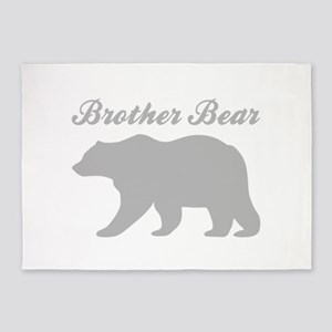 Brother Bear 5'x7'Area Rug