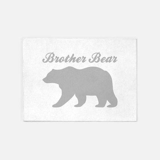 Brother Bear 5'x7'Area Rug