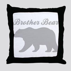 Brother Bear Throw Pillow