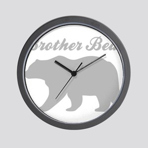 Brother Bear Wall Clock