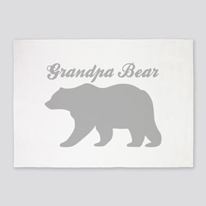 Grandpa Bear 5'x7'Area Rug
