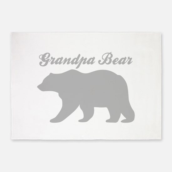 Grandpa Bear 5'x7'Area Rug
