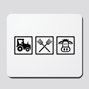 Farmer equipment Mousepad