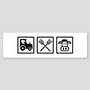 Farmer equipment Sticker (Bumper)
