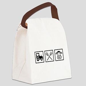 Farmer equipment Canvas Lunch Bag
