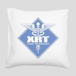 XRT (b)(diamond) Square Canvas Pillow